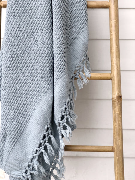 Bohemian Bamboo Throw