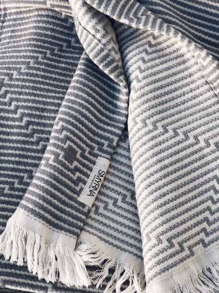 Hypnotic Cotton Throw