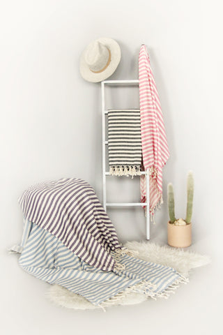 Candy Stripe Turkish Towels