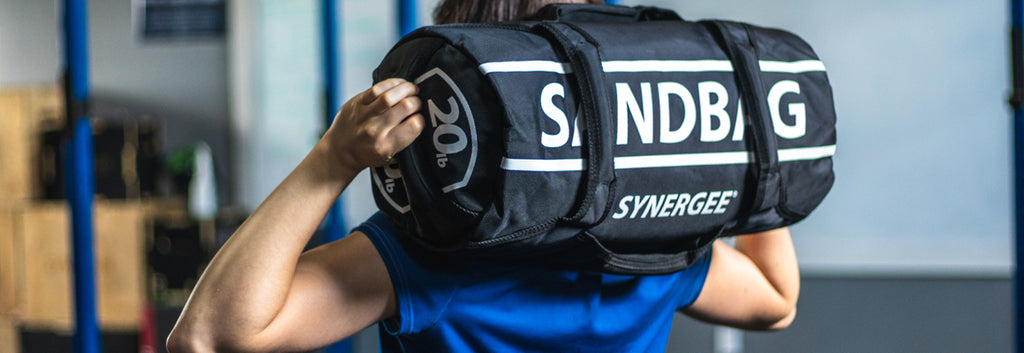 SANDBAGGING IT: 4 Powerful Moves To Do With Your Synergee Sandbag