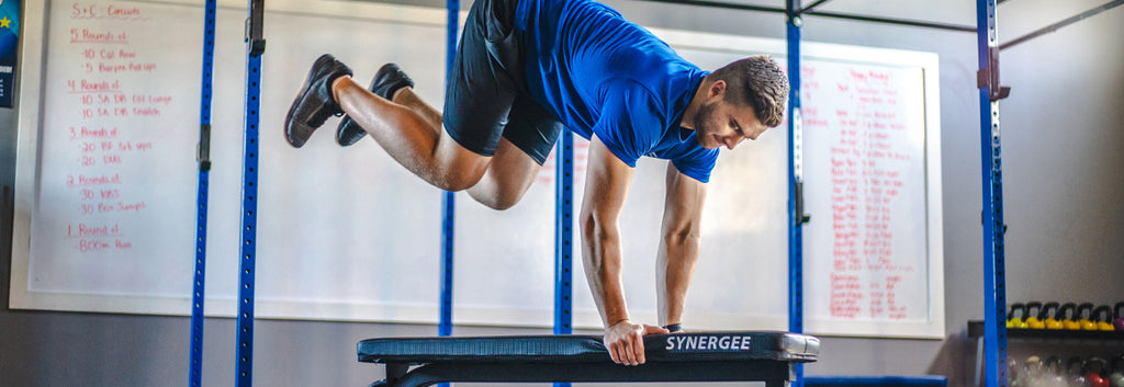 7 BENCH EXERCISES FROM HEAD TO TOE: Minimum equipment with BIG results!