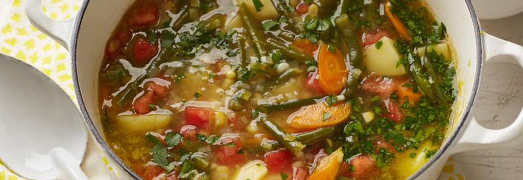 HEALTHY EATS: A Recipe For Garden Veggie Soup