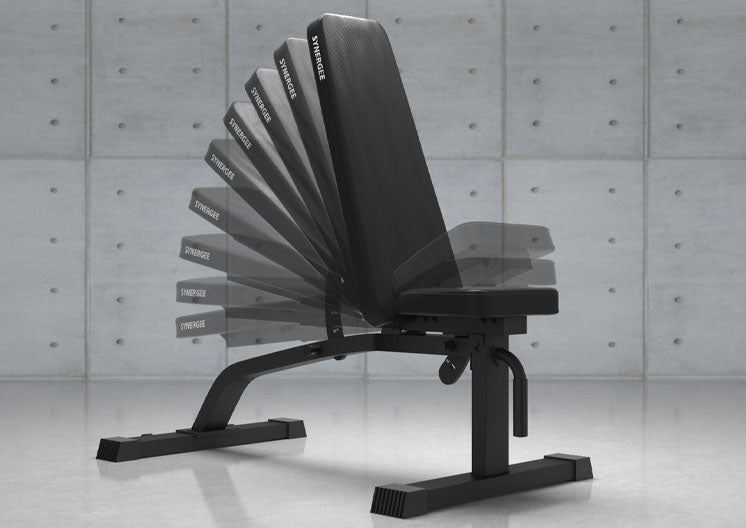 Synergee Adjustable Incline Decline Bench