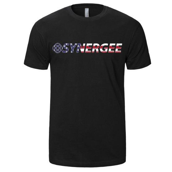 Synergee Men's Crew USA T-Shirt