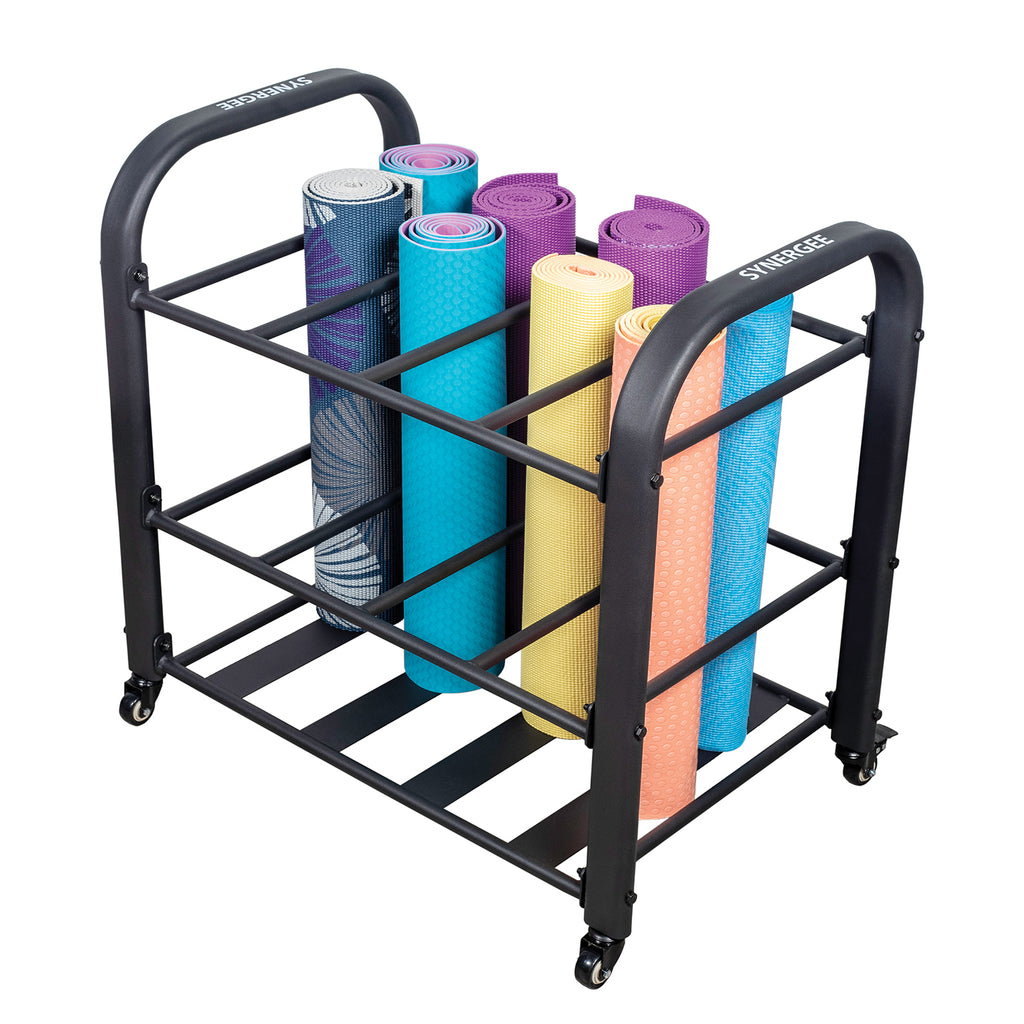 Synergee Yoga Mat Storage Roller Rack