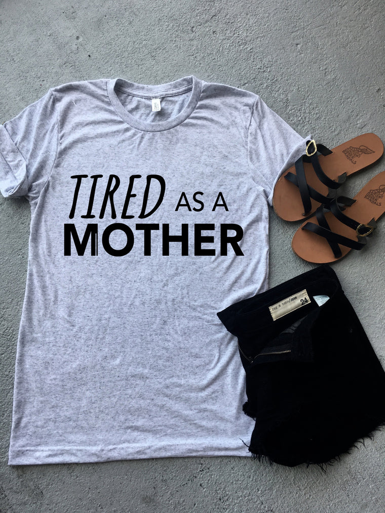Tired as a Mother white flek