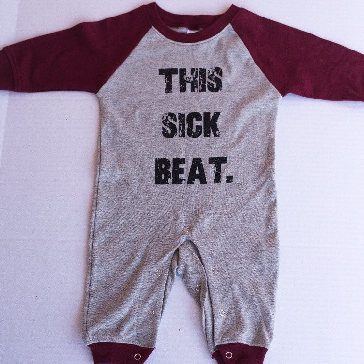 This sick beat romper