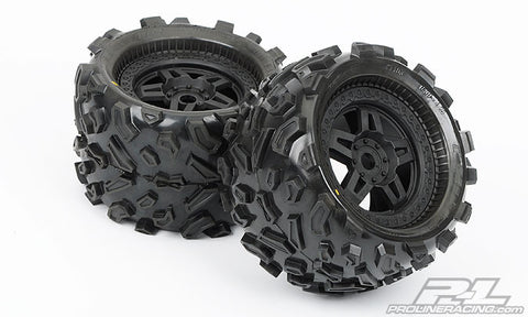 1103-13 Big Joe 3.8 All Terrain Tires Mntd Fr/Re (2) ETS Hobby Shop - chromewheelsimulators.com