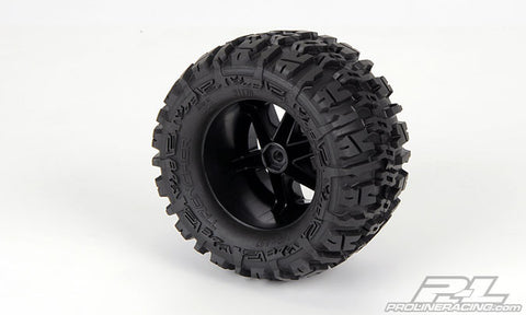 1170-12 Trencher 2.8 Mntd Desperado Blk Whls Fr ETS Hobby Shop - chromewheelsimulators.com