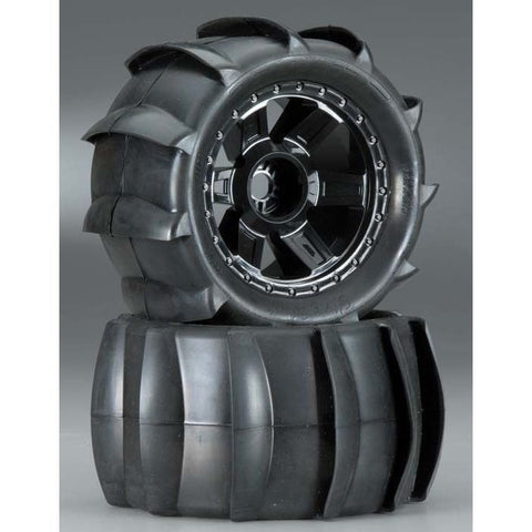 1179-11 Sling Shot 3.8 Sand Tire Mntd 17mm F/R ETS Hobby Shop - chromewheelsimulators.com