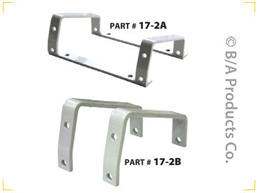 2 Piece Mounting Brackets for Cable Tensioners & Guides - chromewheelsimulators.com