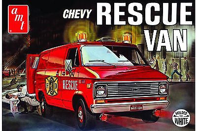 AMT 1/25 '75 Chevy Rescue Van - chromewheelsimulators.com