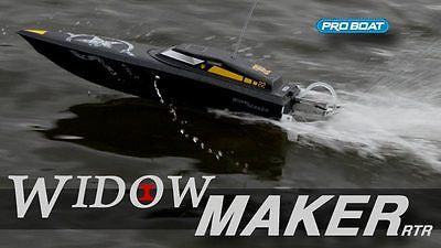 Pro Boat WidowMaker 22 Deep-V 2.4 BL RTR - chromewheelsimulators.com