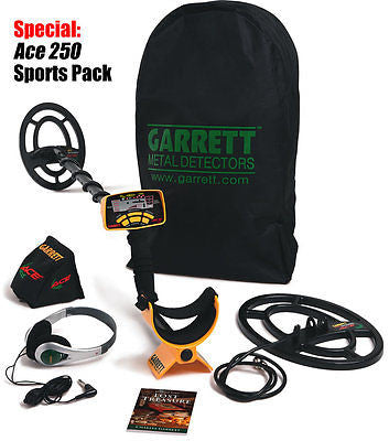 ACE™ 250, Metal Detector, Garrett, Sport Pack - chromewheelsimulators.com