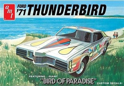 1/25 1971 Ford Thunderbird Model - chromewheelsimulators.com