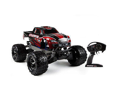 Traxxas Stampede 4x4 VXL Brushless Motor Powered Off-Road Monster Truck, 2.4 GH - chromewheelsimulators.com