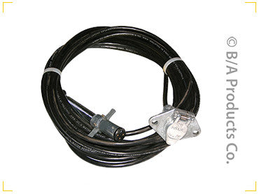 4 Way x 30′ Cord w/ Plug & Socket Ends - chromewheelsimulators.com