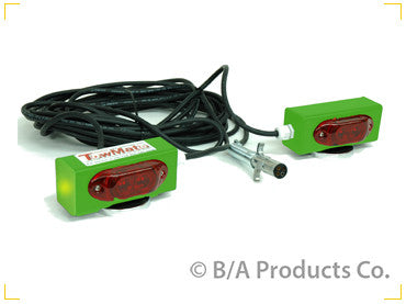 TowMate Wired Tow Lights with Side Markers - chromewheelsimulators.com