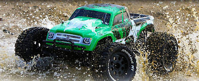 Ruckus1:10 2wdMonsterTruck:Green/Black RTR - chromewheelsimulators.com