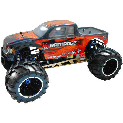 Redcat Racing Rampage MT V3 1/5 Gas RC Monster Truck Newest Version 32CC engine! - chromewheelsimulators.com