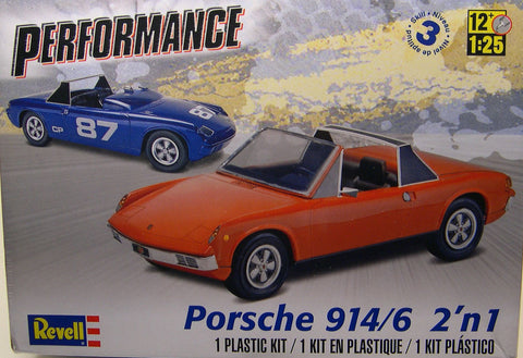 854378 1/25 '72 Porsche 914-6 2'n1 - chromewheelsimulators.com