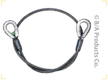 "Cable Slings, 3/4"" - chromewheelsimulators.com"