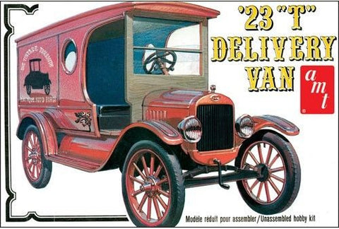 AMT860/12 1/25 1923 Ford Model T Delivery - chromewheelsimulators.com
