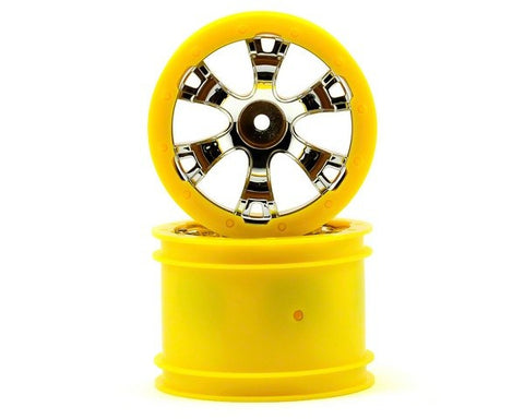 Traxxas Wheels Geode 2.2 Yellow Beadlock 1/16 Summit ETS Hobby Shop - chromewheelsimulators.com