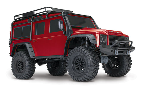 82056-4 - TRX-4 Scale and Trail Crawler with Land Rover® Defender® Body Ets Hobby Shop
