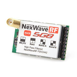 NexWave RF, 5G8RX, 32ch, Race Band, RX - chromewheelsimulators.com