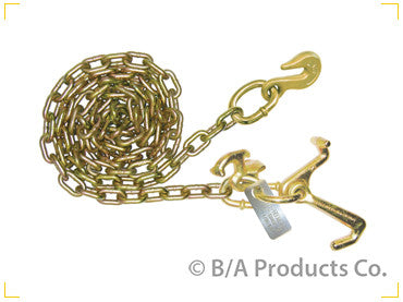 Chain with Grab Hook; R, T & Mini J Hooks - chromewheelsimulators.com