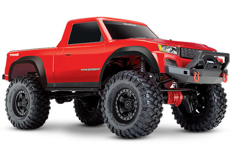 TRX-4 Sport: 1/10 Scale 4WD Electric Truck Red