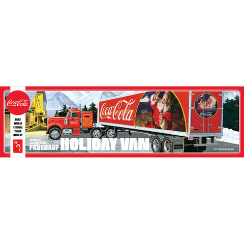 1/25 Fruehauf Holiday Hauler Semi Trlr Coca-Cola