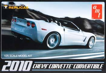 1/25 '10 NEW CORVETTE CONVERTIBLE KIT, AMT 677