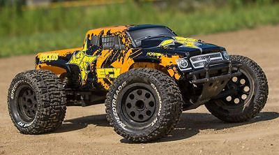 1/10 2WD Ruckus Monster Truck BD, LiPo:Blk/Org RTR - chromewheelsimulators.com