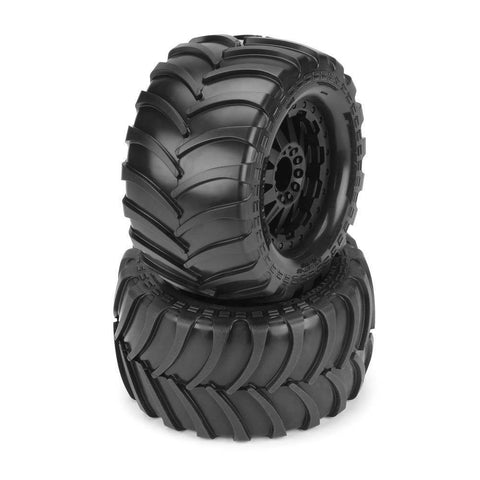 10129-15 Destroyer 2.8 All Terrain Tires Mnt Blck Re Wh ETS Hobby Shop - chromewheelsimulators.com