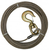3/8 Wire Rope, Alloy Swivel Hook – Steel Core - chromewheelsimulators.com