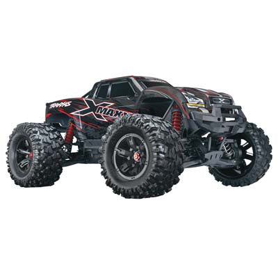 Traxxas 77086-4 X-Maxx 4WD 8s-Capable Brushless Elec Mnstr Ets Hobby Shop - chromewheelsimulators.com