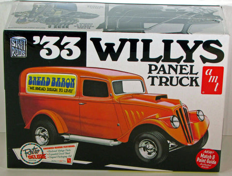 AMT879/12 1/25 1933 Willys Panel ETS Hobby Shop