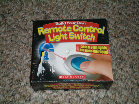Build Your Own Remote Control Light Switch