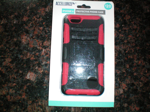 IPhone 6 case red and black color