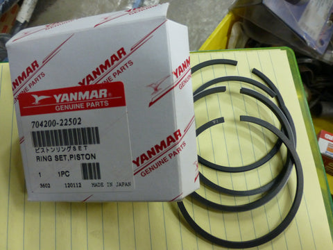 Yanmar Piston Ring Set 704200-22502