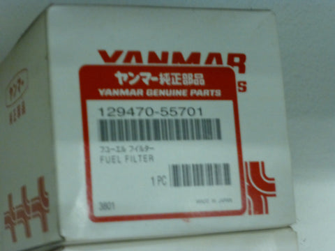 Yanmar Fuel Filter 129470-55701 for JH series   NOT 4JH2-6TE