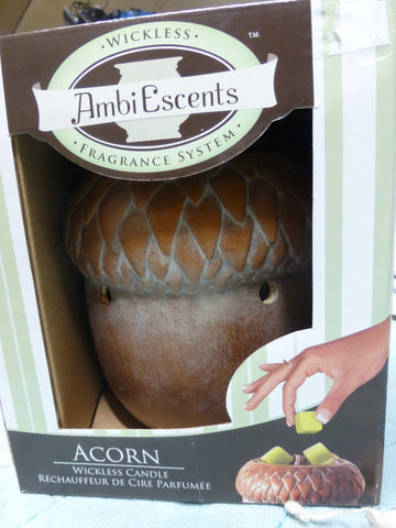 Ambi Escents Wickless Fragrance Was Melter Acorn