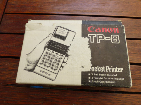 Canon TP-8 Pocket Printer (used) excellent condition