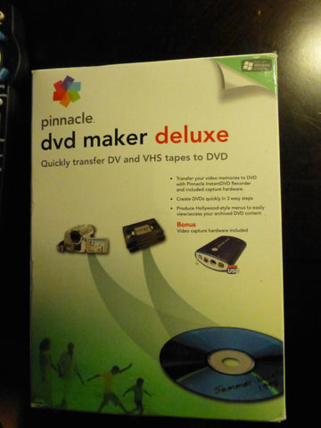 Pinnacle DVD Maker Deluxe