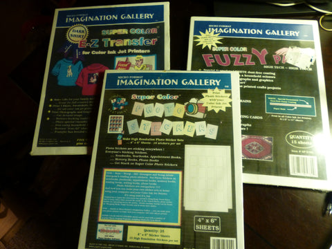 3 Pack Micro Format Imagination Gallery