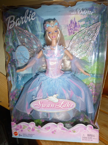 Barbie Swan Lake 2003 wings light up and move up and down