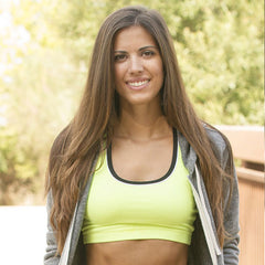 Green Sports Bra by InTouch