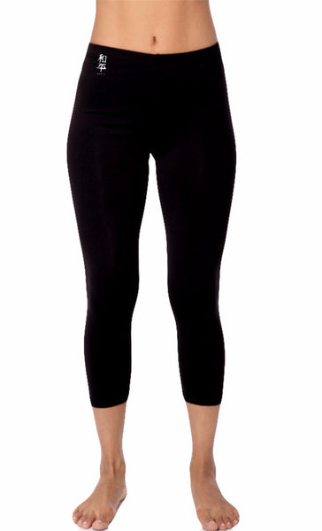 Premium Peace Supplex Capri